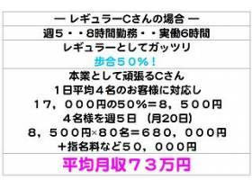 【平均月収】73万円