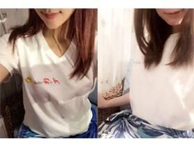 接客用の衣装は当店オリジナルのコスチュームやスカートにTシャツでの接客になります